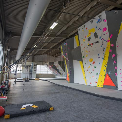 Fitness Area & Top-Rope Area