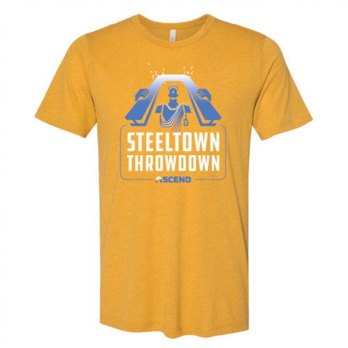 ASCEND Climbing Steel Town Throw Down T-Shirt